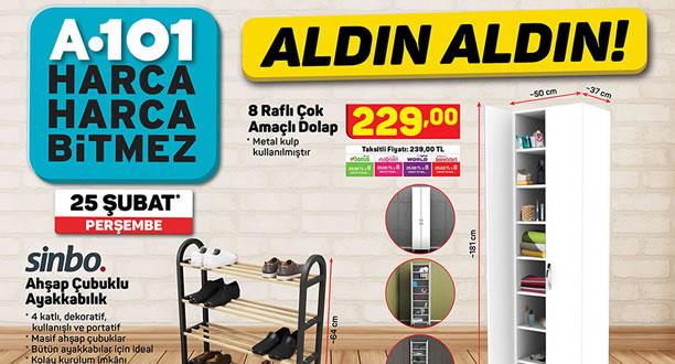 A101 25 Şubat 2021 Aktüel Ürünler Kataloğu