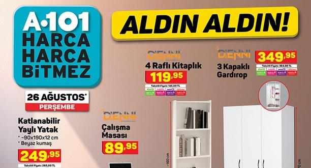 A101 26 Ağustos 2021 Aktüel Ürünler Kataloğu