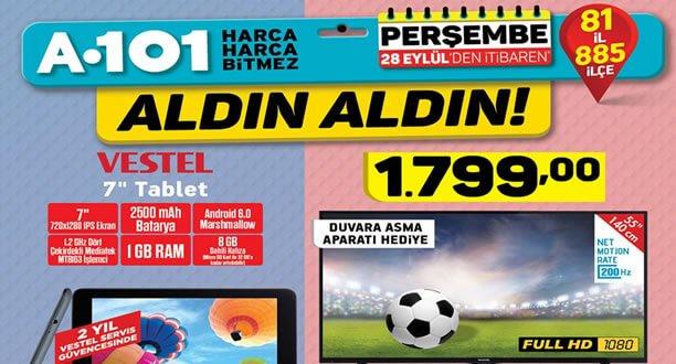 A101 28 Eylül 2017 Aktüel Ürünler Kataloğu