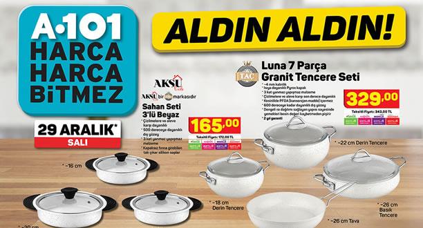 A101 29 Aralık 2020 Aktüel Ürünler Kataloğu