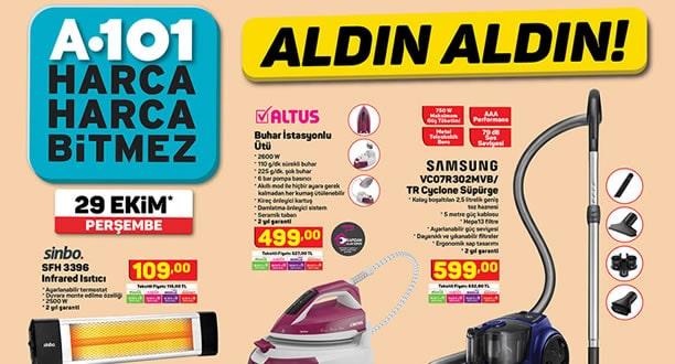 A101 29 Ekim 2020 Aktüel Ürünler Kataloğu