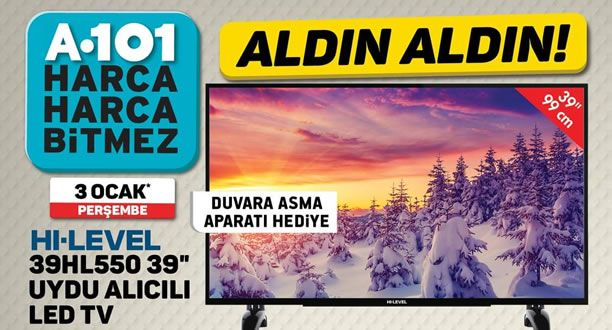 A101 3 Ocak 2019 Aktüel Ürünler Kataloğu