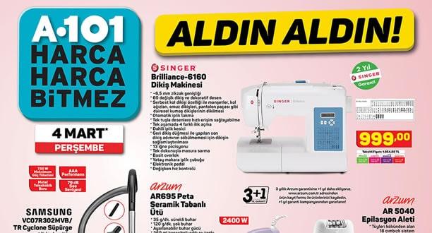 A101 4 Mart 2021 Aktüel Ürünler Kataloğu