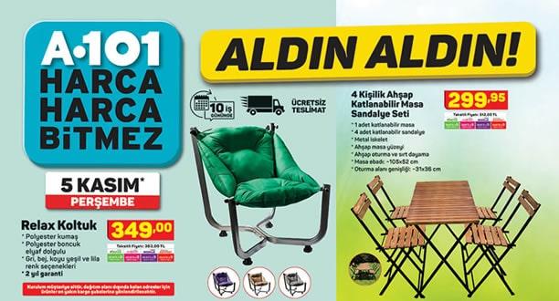 A101 5 Kasım 2020 Aktüel Ürünler Kataloğu