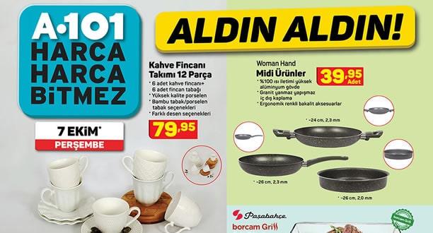 A101 7 Ekim 2021 Aktüel Ürünler Kataloğu