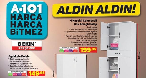 A101 8 Ekim 2020 Aktüel Ürünler Kataloğu