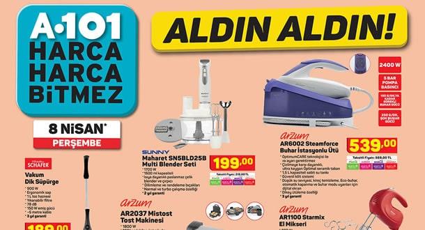 A101 8 Nisan 2021 Aktüel Ürünler Kataloğu