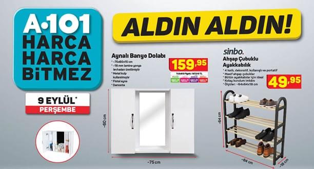 A101 9 Eylül 2021 Aktüel Ürünler Kataloğu